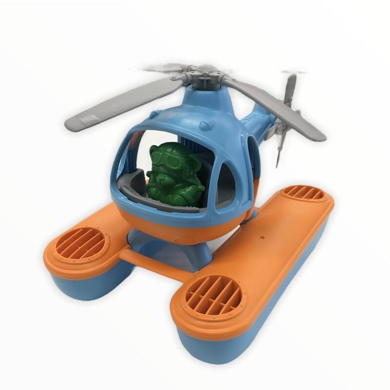 Float Plane (Orange/Blue)