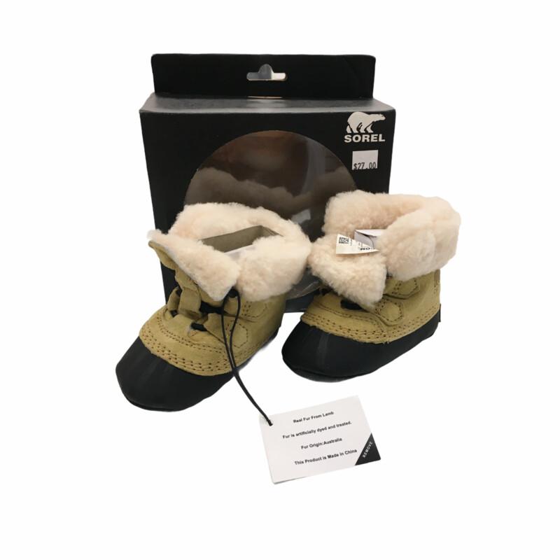 Shoes (Snow/Tan) NWT
