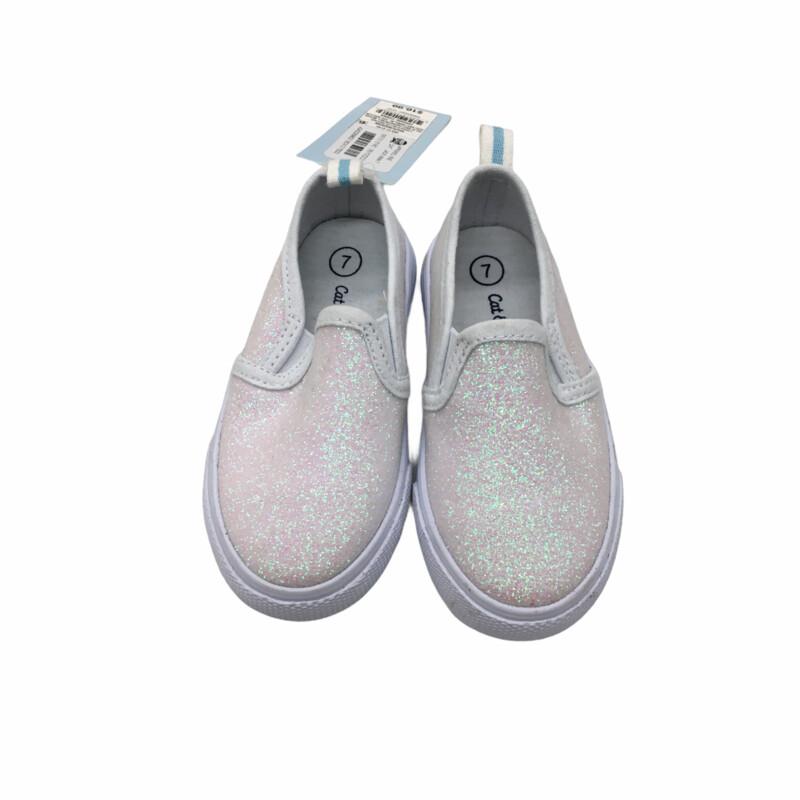 Shoes (White/Glitter) NWT