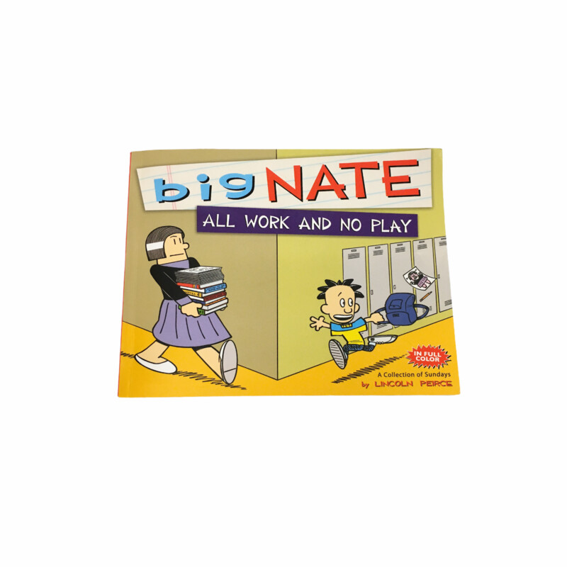 Big Nate All Work And No Play, Book  #resalerocks #books  #pipsqueakresale #vancouverwa #portland #reusereducerecycle #fashiononabudget #chooseused #consignment #savemoney #shoplocal #weship #keepusopen #shoplocalonline #resale #resaleboutique #mommyandme #minime #fashion #reseller                                                                                                                                      Cross posted, items are located at #PipsqueakResaleBoutique, payments accepted: cash, paypal & credit cards. Any flaws will be described in the comments. More pictures available with link above. Local pick up available at the #VancouverMall, tax will be added (not included in price), shipping available (not included in price), item can be placed on hold with communication, message with any questions. Join Pipsqueak Resale - Online to see all the new items! Follow us on IG @pipsqueakresale & Thanks for looking! Due to the nature of consignment, any known flaws will be described; ALL SHIPPED SALES ARE FINAL. All items are currently located inside Pipsqueak Resale Boutique as a store front items purchased on location before items are prepared for shipment will be refunded.