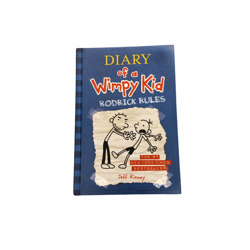 Diary Of A Wimpy Kid #2, Book: Rodrick Rules  #resalerocks #books  #pipsqueakresale #vancouverwa #portland #reusereducerecycle #fashiononabudget #chooseused #consignment #savemoney #shoplocal #weship #keepusopen #shoplocalonline #resale #resaleboutique #mommyandme #minime #fashion #reseller                                                                                                                                      Cross posted, items are located at #PipsqueakResaleBoutique, payments accepted: cash, paypal & credit cards. Any flaws will be described in the comments. More pictures available with link above. Local pick up available at the #VancouverMall, tax will be added (not included in price), shipping available (not included in price), item can be placed on hold with communication, message with any questions. Join Pipsqueak Resale - Online to see all the new items! Follow us on IG @pipsqueakresale & Thanks for looking! Due to the nature of consignment, any known flaws will be described; ALL SHIPPED SALES ARE FINAL. All items are currently located inside Pipsqueak Resale Boutique as a store front items purchased on location before items are prepared for shipment will be refunded.