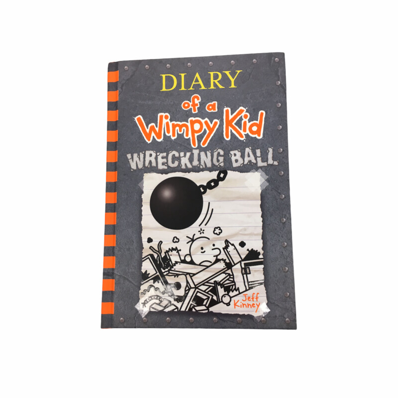Diary Of A Wimpy Kid #14, Book: Wrecking Ball  #resalerocks #books  #pipsqueakresale #vancouverwa #portland #reusereducerecycle #fashiononabudget #chooseused #consignment #savemoney #shoplocal #weship #keepusopen #shoplocalonline #resale #resaleboutique #mommyandme #minime #fashion #reseller                                                                                                                                      Cross posted, items are located at #PipsqueakResaleBoutique, payments accepted: cash, paypal & credit cards. Any flaws will be described in the comments. More pictures available with link above. Local pick up available at the #VancouverMall, tax will be added (not included in price), shipping available (not included in price), item can be placed on hold with communication, message with any questions. Join Pipsqueak Resale - Online to see all the new items! Follow us on IG @pipsqueakresale & Thanks for looking! Due to the nature of consignment, any known flaws will be described; ALL SHIPPED SALES ARE FINAL. All items are currently located inside Pipsqueak Resale Boutique as a store front items purchased on location before items are prepared for shipment will be refunded.
