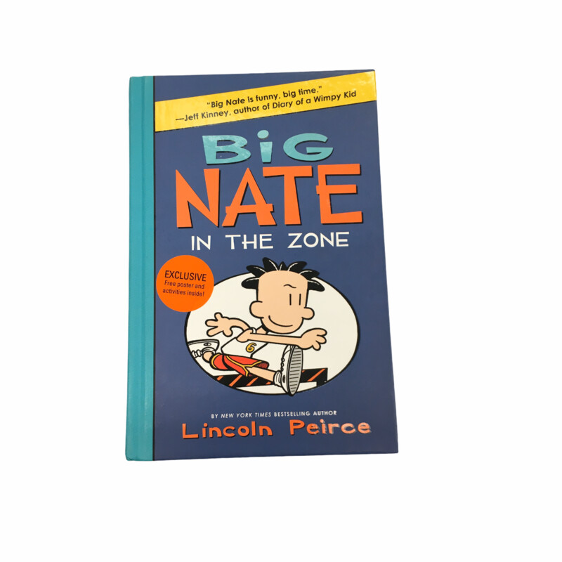 Big Nate #6, Book: In the Zone  #resalerocks #books  #pipsqueakresale #vancouverwa #portland #reusereducerecycle #fashiononabudget #chooseused #consignment #savemoney #shoplocal #weship #keepusopen #shoplocalonline #resale #resaleboutique #mommyandme #minime #fashion #reseller                                                                                                                                      Cross posted, items are located at #PipsqueakResaleBoutique, payments accepted: cash, paypal & credit cards. Any flaws will be described in the comments. More pictures available with link above. Local pick up available at the #VancouverMall, tax will be added (not included in price), shipping available (not included in price), item can be placed on hold with communication, message with any questions. Join Pipsqueak Resale - Online to see all the new items! Follow us on IG @pipsqueakresale & Thanks for looking! Due to the nature of consignment, any known flaws will be described; ALL SHIPPED SALES ARE FINAL. All items are currently located inside Pipsqueak Resale Boutique as a store front items purchased on location before items are prepared for shipment will be refunded.
