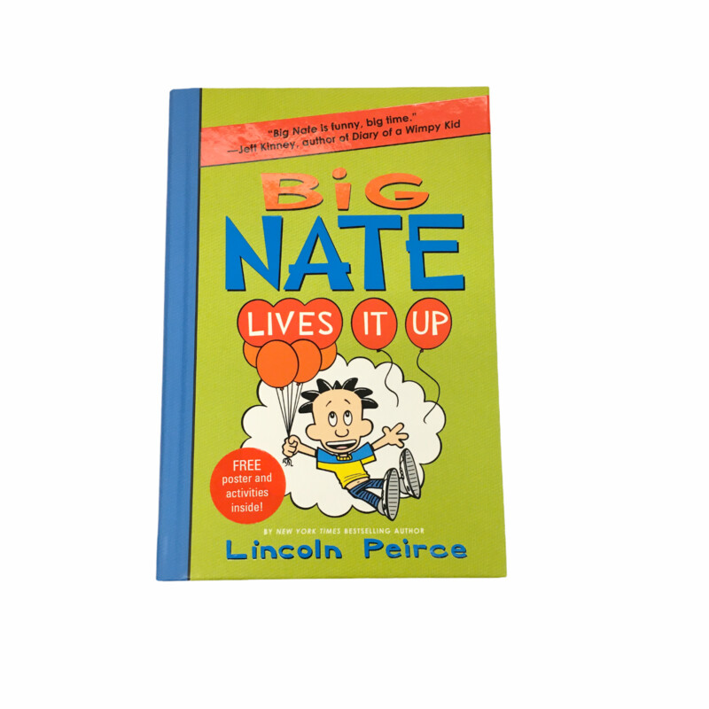 Big Nate #7, Book: Lives It Up  #resalerocks #books  #pipsqueakresale #vancouverwa #portland #reusereducerecycle #fashiononabudget #chooseused #consignment #savemoney #shoplocal #weship #keepusopen #shoplocalonline #resale #resaleboutique #mommyandme #minime #fashion #reseller                                                                                                                                      Cross posted, items are located at #PipsqueakResaleBoutique, payments accepted: cash, paypal & credit cards. Any flaws will be described in the comments. More pictures available with link above. Local pick up available at the #VancouverMall, tax will be added (not included in price), shipping available (not included in price), item can be placed on hold with communication, message with any questions. Join Pipsqueak Resale - Online to see all the new items! Follow us on IG @pipsqueakresale & Thanks for looking! Due to the nature of consignment, any known flaws will be described; ALL SHIPPED SALES ARE FINAL. All items are currently located inside Pipsqueak Resale Boutique as a store front items purchased on location before items are prepared for shipment will be refunded.