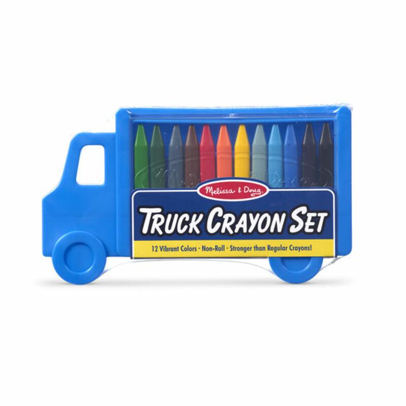 Truck Crayon