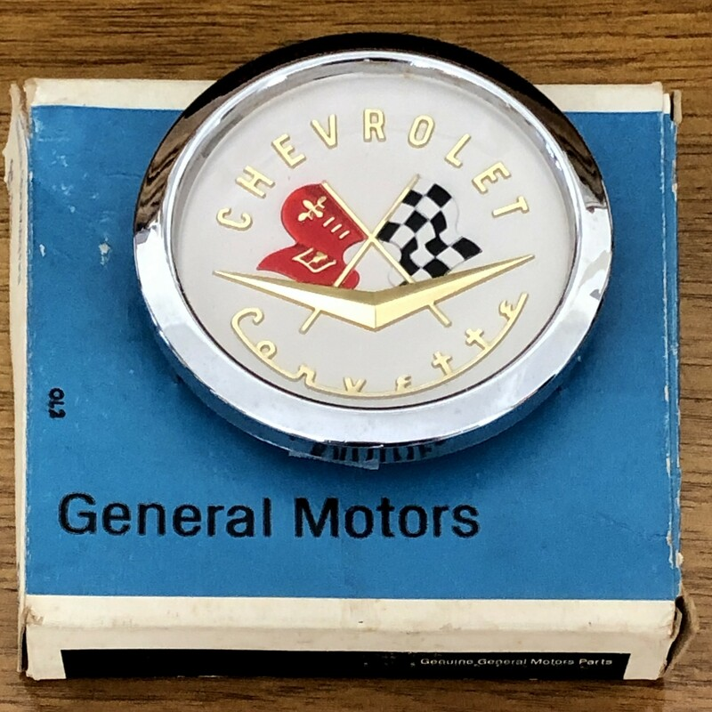 GM Corvette Bezel/Emblem