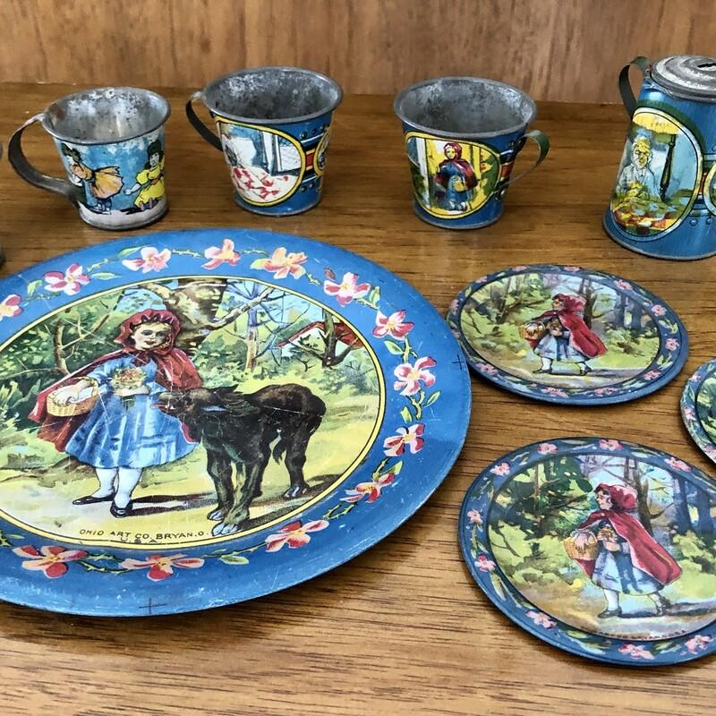 Ohio Art Tea Set