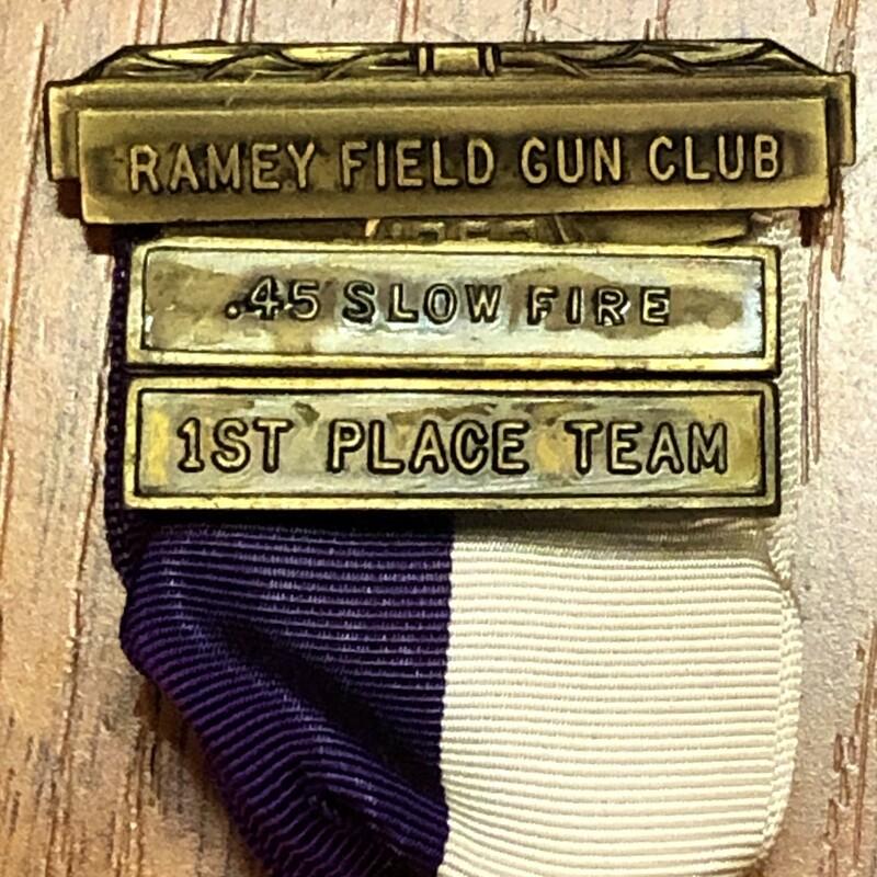 Gun Club Medal