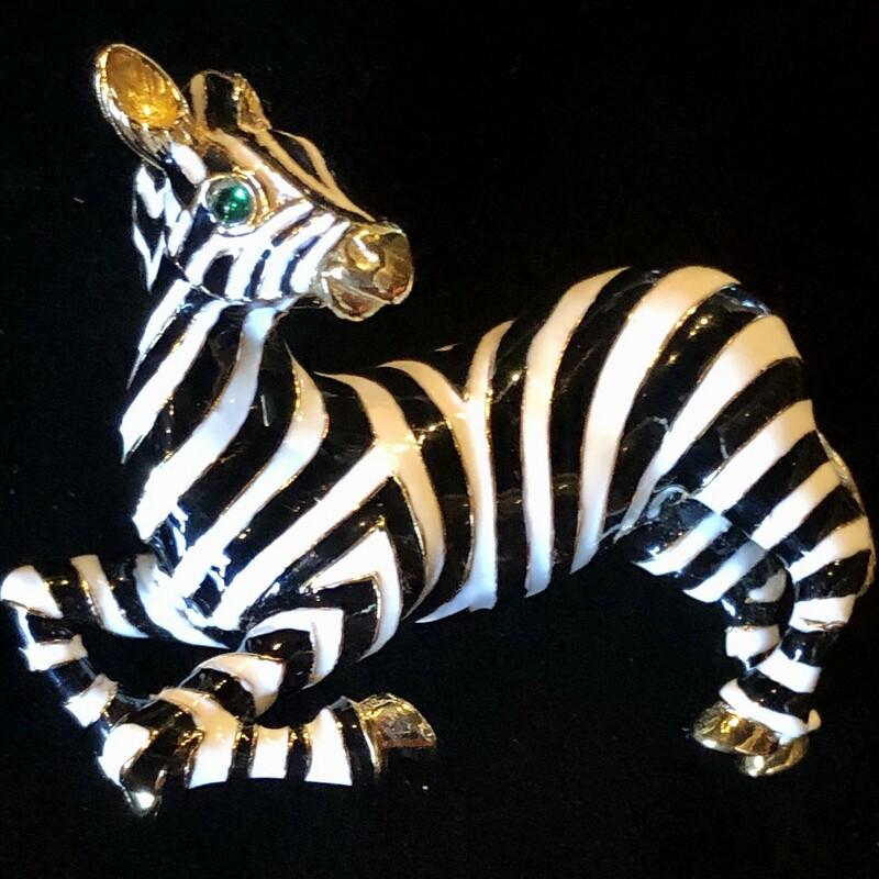 Enameled Zebra