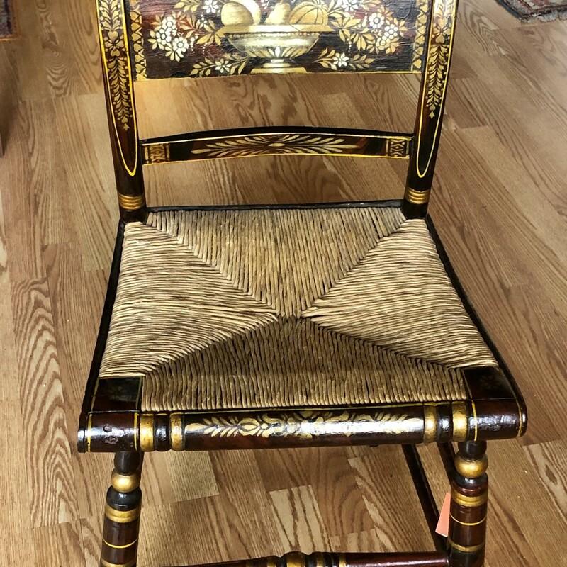 Hitchcock Rush Chair