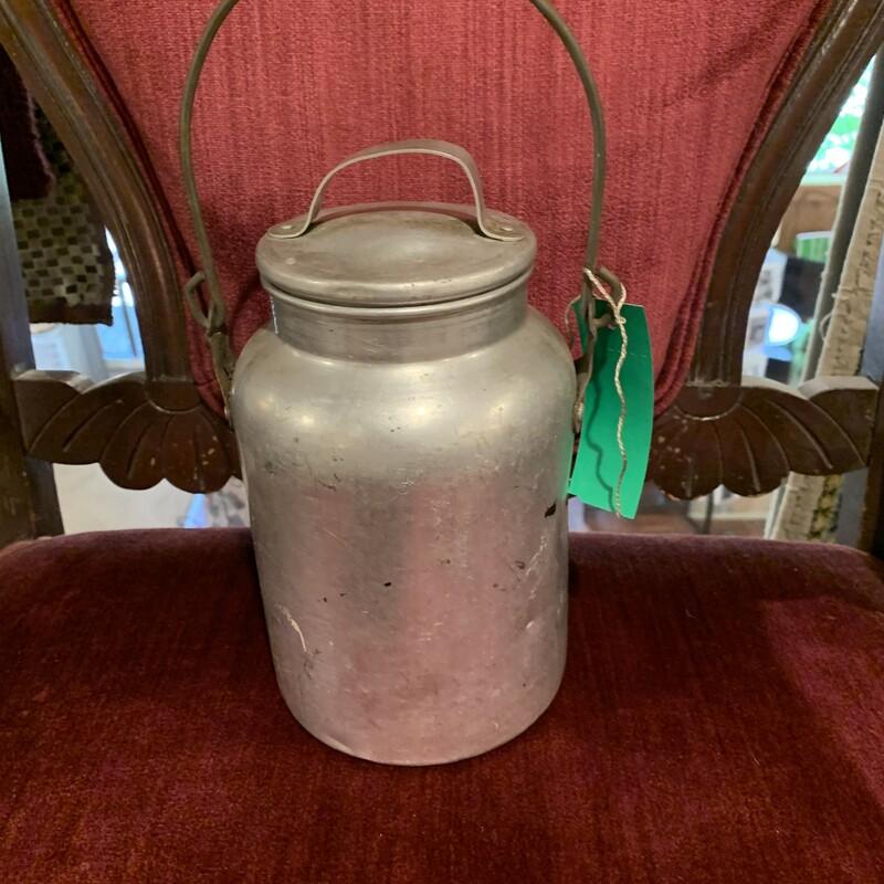 Metal Cream Bucket
