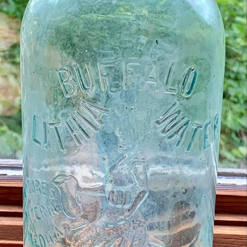 Buffalo Lithia Water Bottle - $48.50 Unique design on bottle.