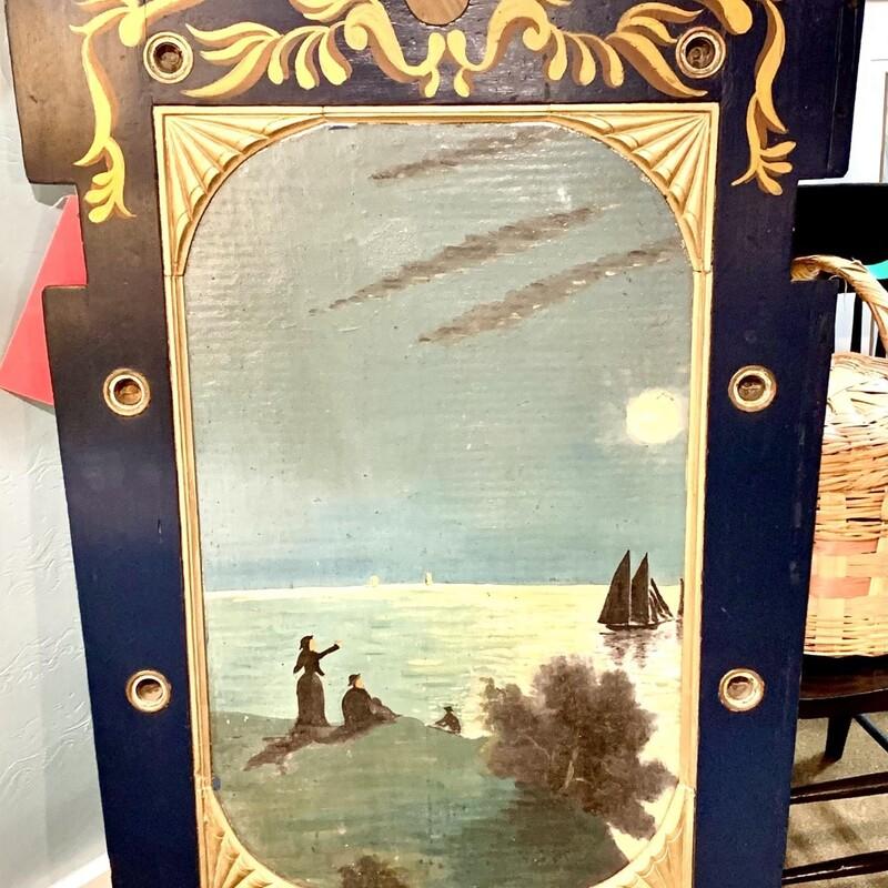 Vtg Maine Carousel Panel