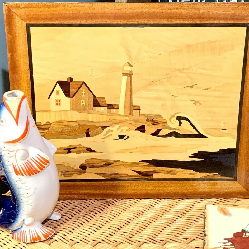 Marquetry Lighthouse Pic