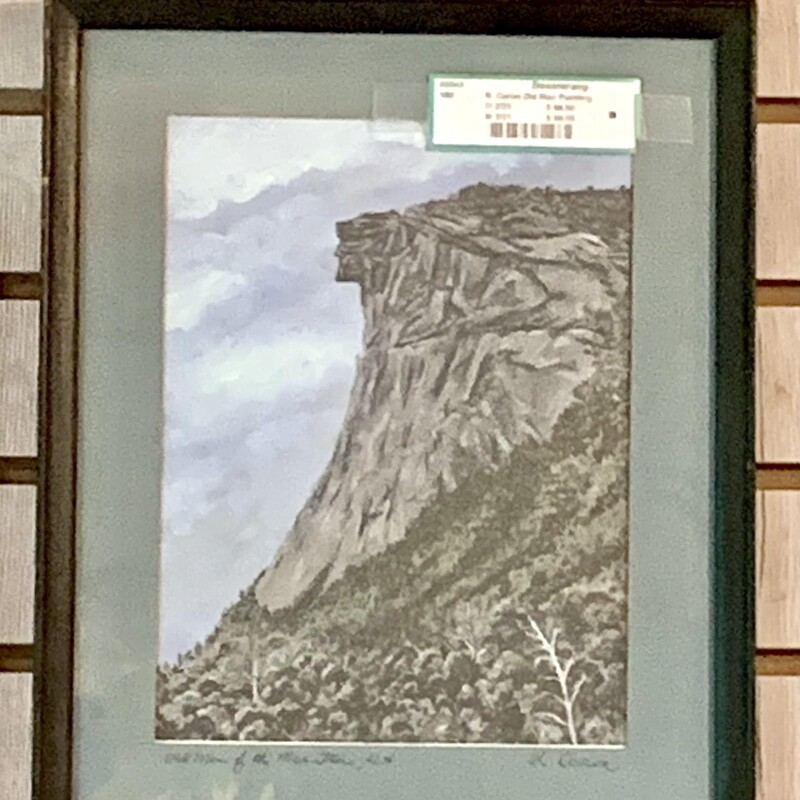 R. Caron Old Man Painting - $66.50 11 1/4 IN X 14 IN