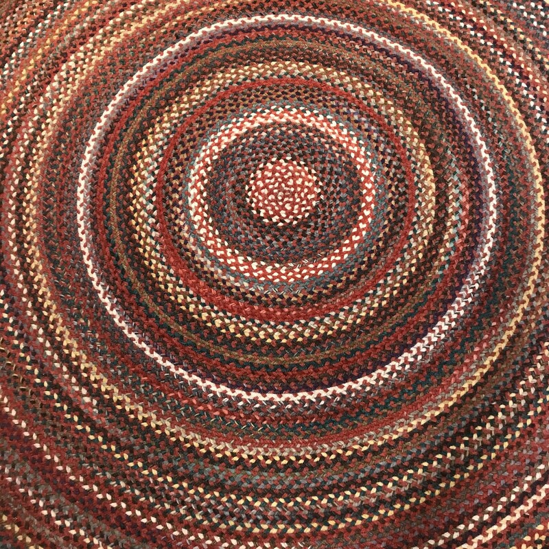 Round Braided Rug, Size: 7.5' Yorktown by Capel.  This rug is SO CLEAN and beautiful.