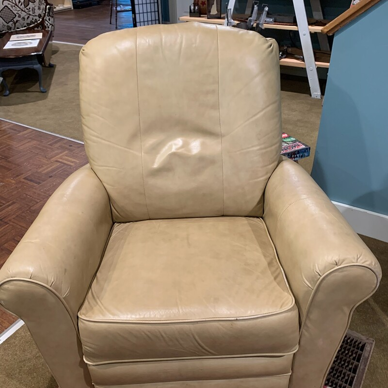 LaZBoy Leather Recliner. Rocks, Swivels and Reclines