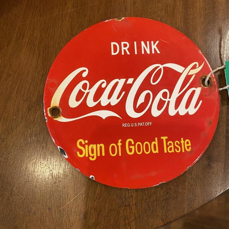 Coca Cola Mini Sign