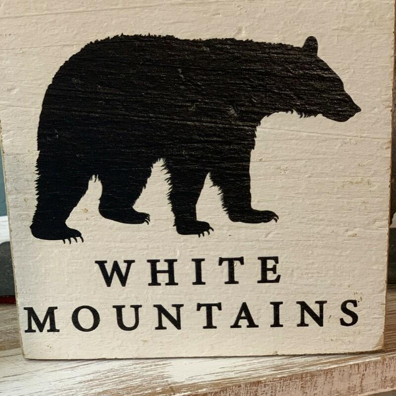 White Mountains Wooden Si