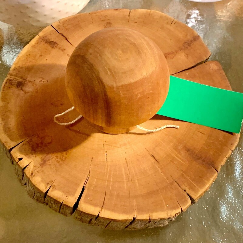 Rustic Wooden Garlick Press
