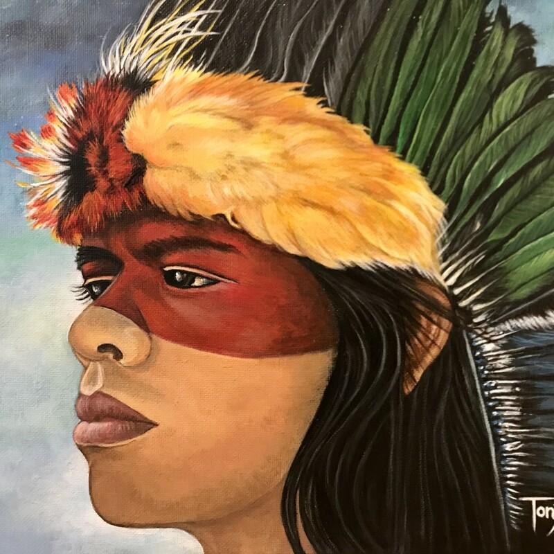 Hiawathas Headdress