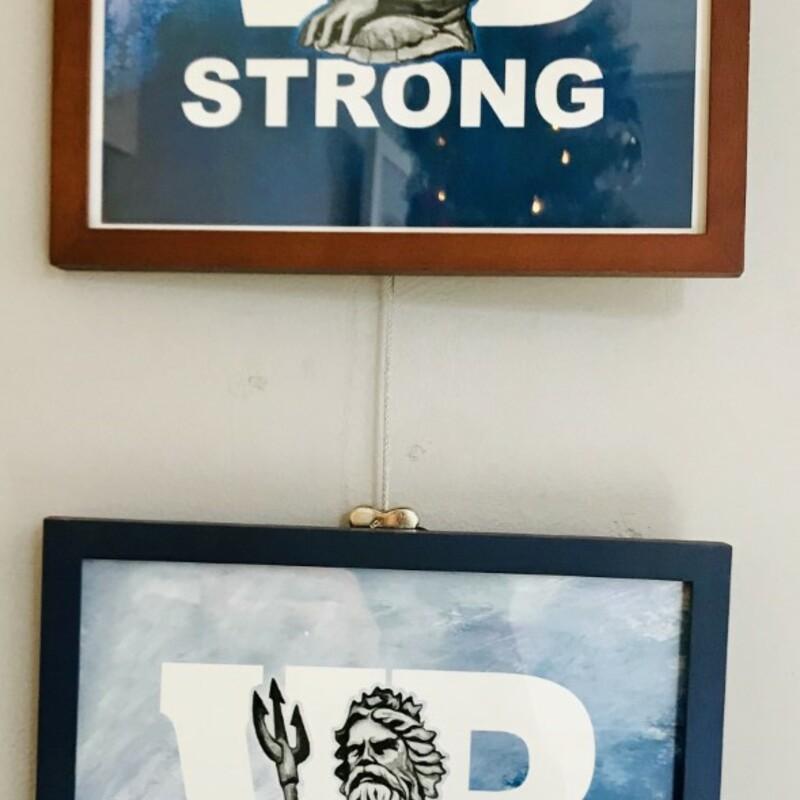 Framed VB Strong Print