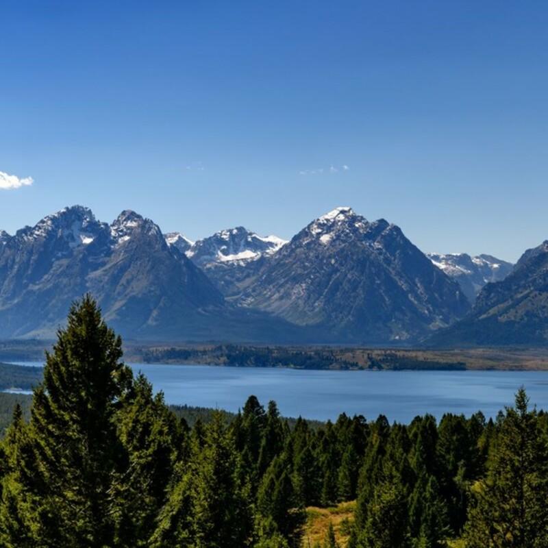 Jackson Lake & The Tetons