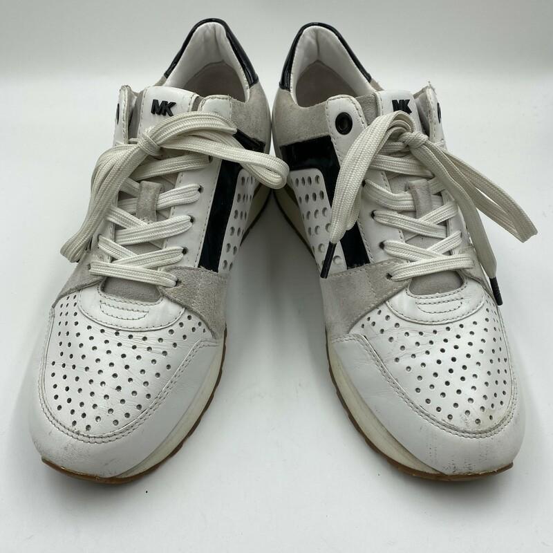 MIchael Kors Sneakers, White, Size: 8