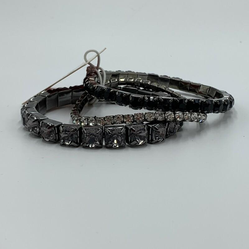 GArbo Bracelet Set, Slvr/mul, Size: None