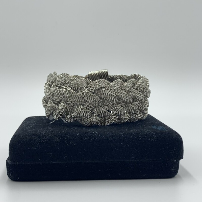 Magnetic Bracelet, Silver, Size: None