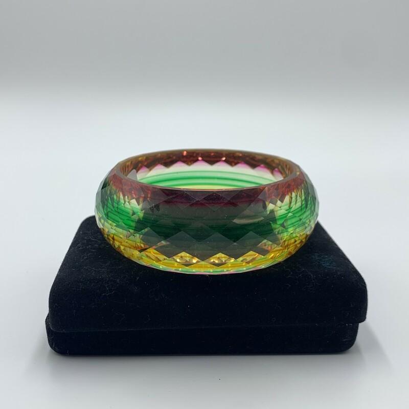 Magnetic Bracelet, Blk/silv, Size: None