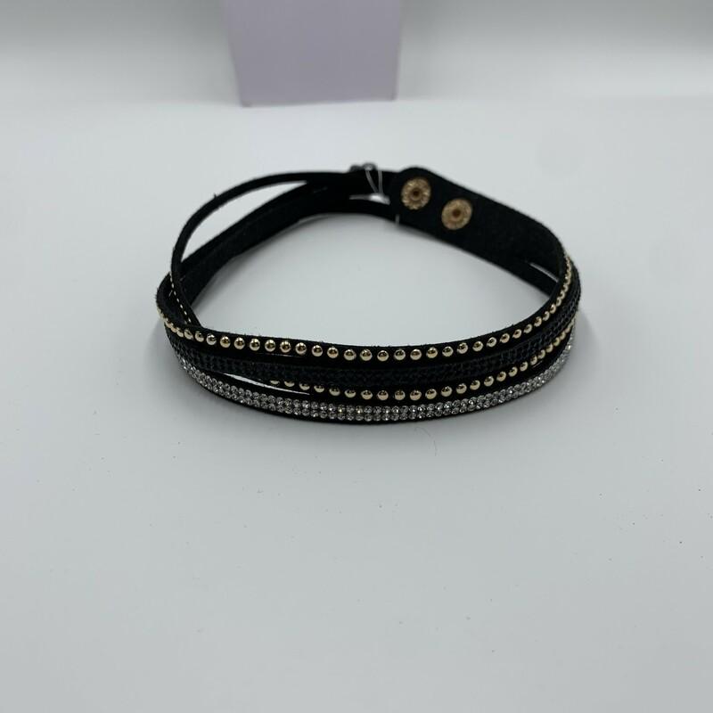 Necklace, Black, Size: None