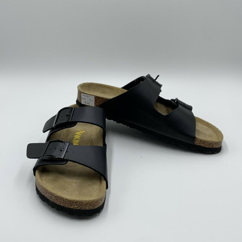 Viking Sandal, Black, Size: 7.5