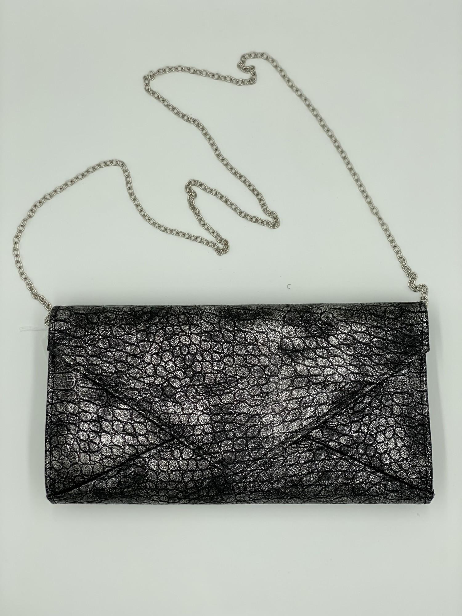 Cr Evening Bag, Grey, Size: None