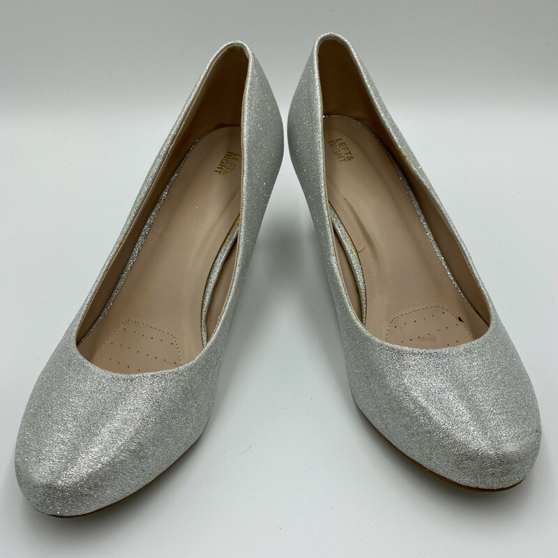Left&Right, Silver, Size: 9