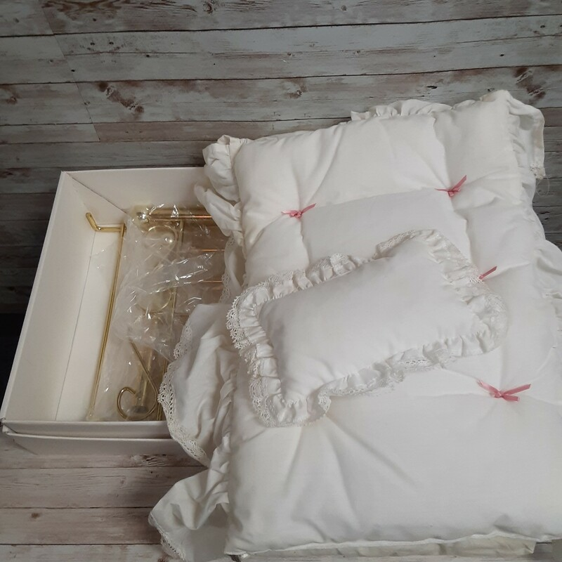 American Girl Brass Bed