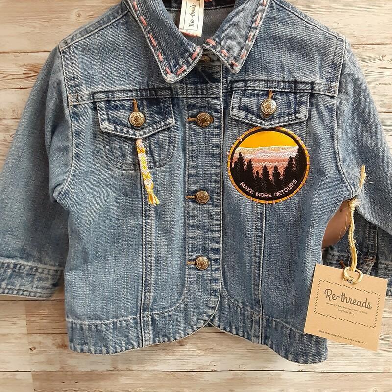 Re-threads Denim Jacket