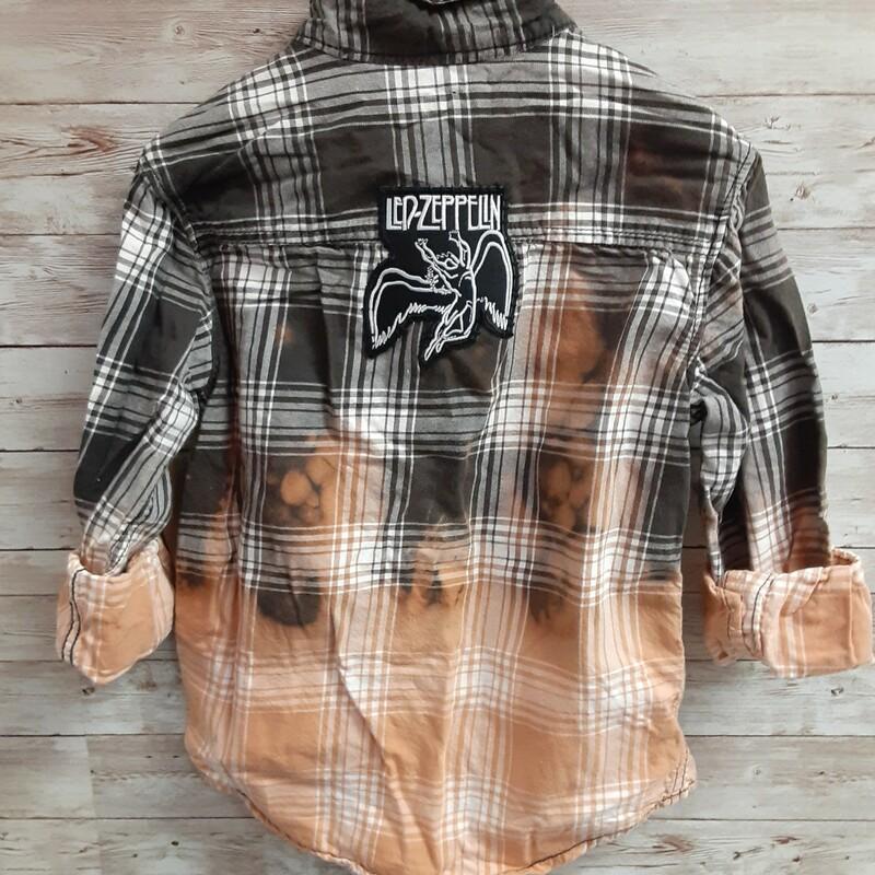 Re-threads Plaid Shirt
