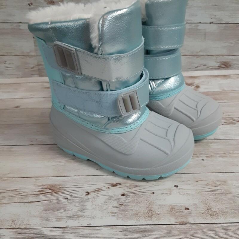 Cat&Jack Snowboots, Blue, Size: Shoes 7