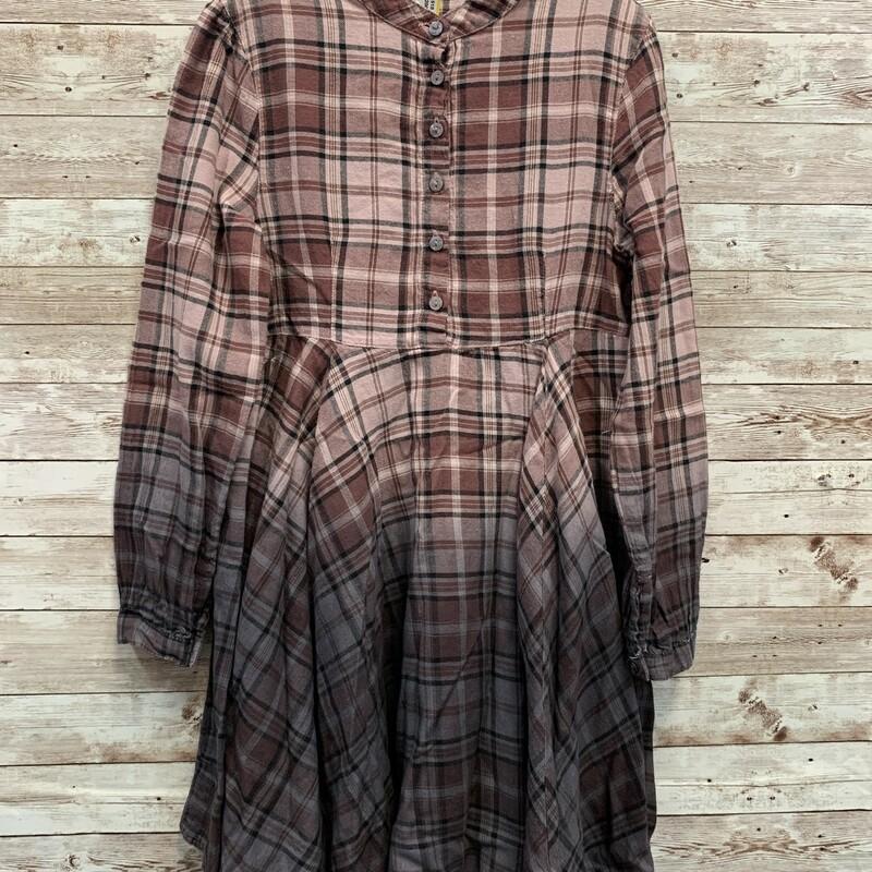 Bennetton Plaid Dress