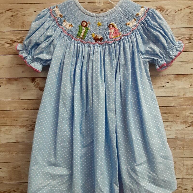 Smocked Thread Dress