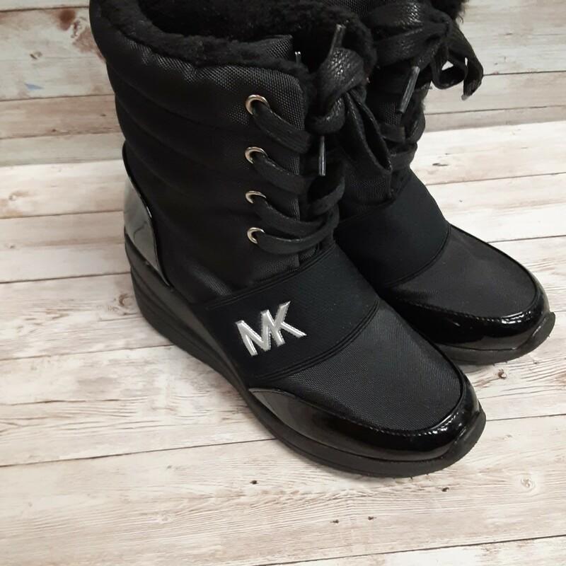 MK Patent Boots