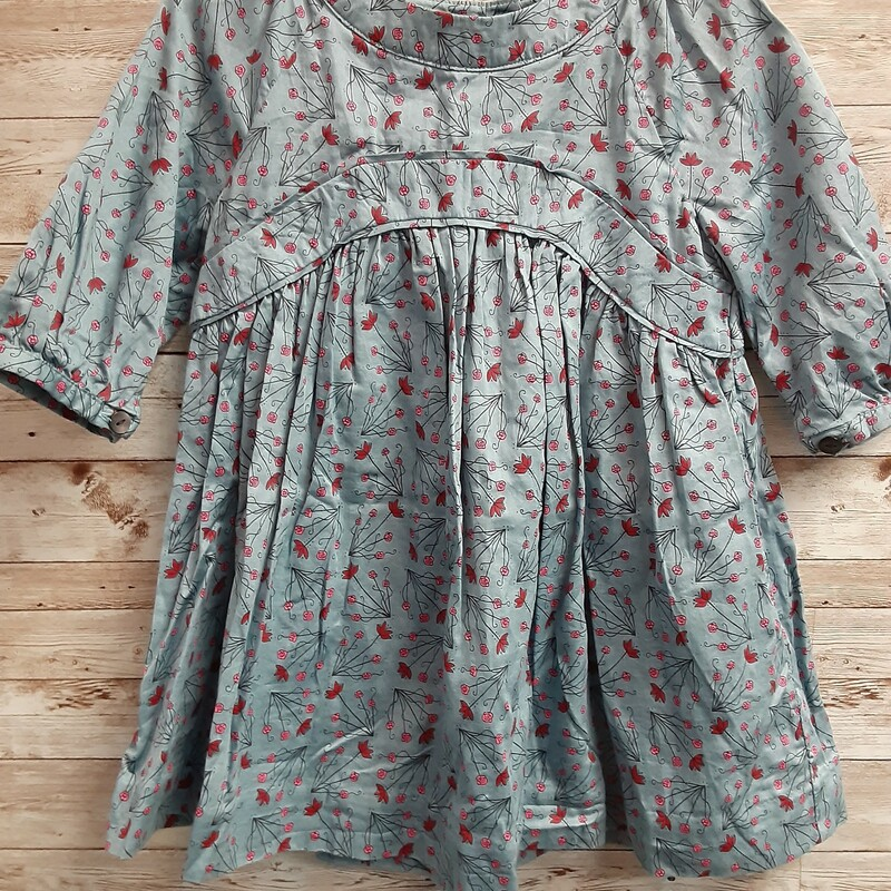 Tea Print Dress