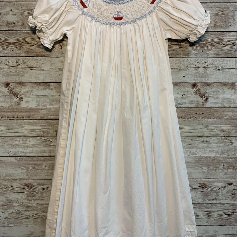 Little Engl Smocked Dress