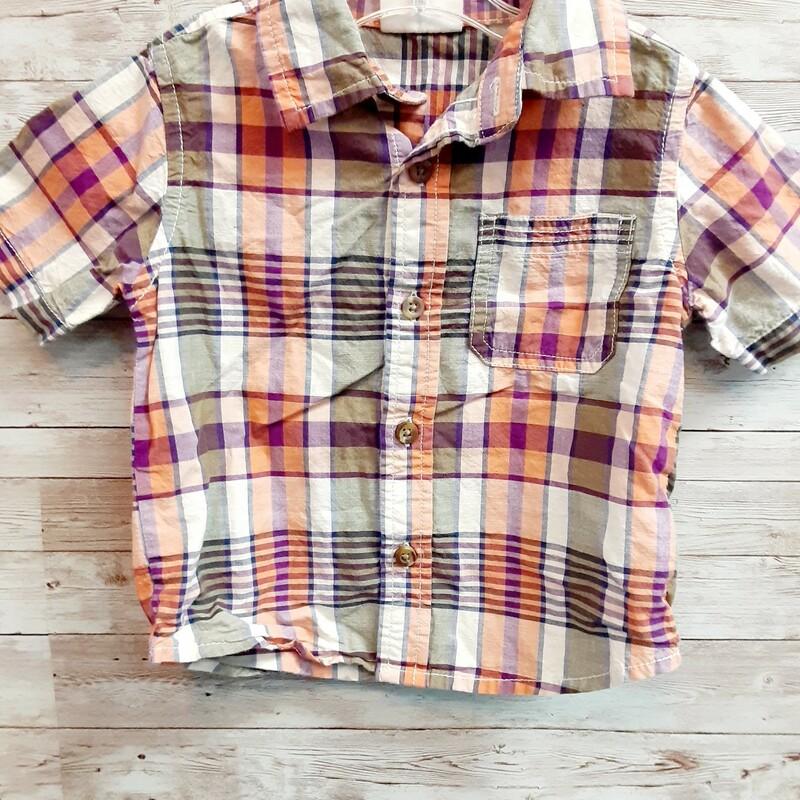 Crazy8 Plaid Shirt