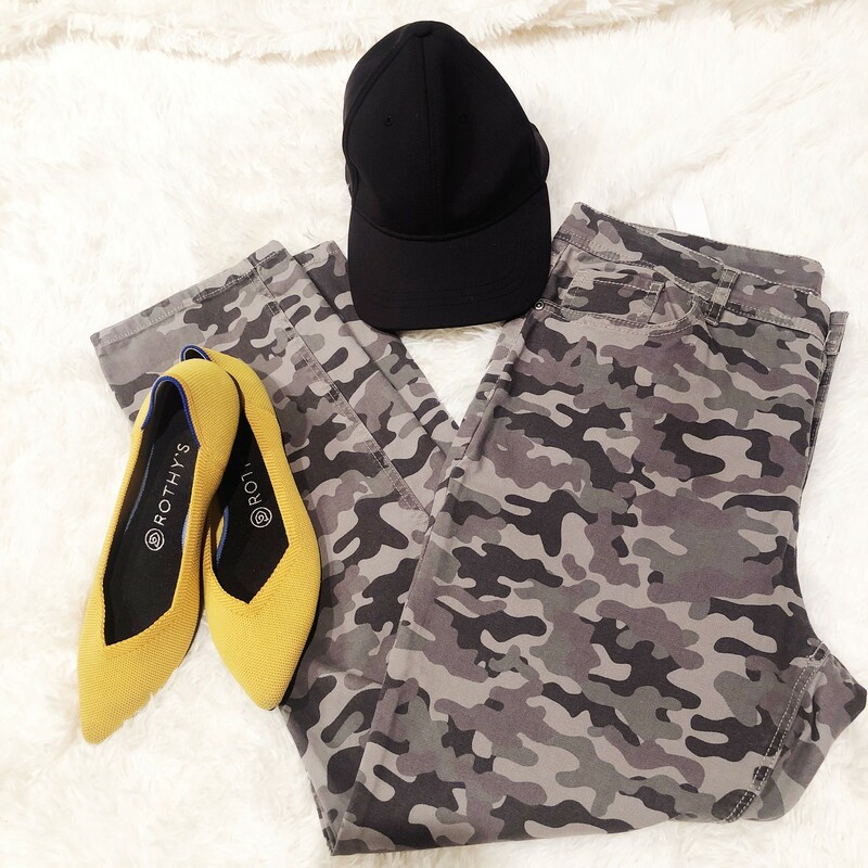 We can't get enough camouflage!