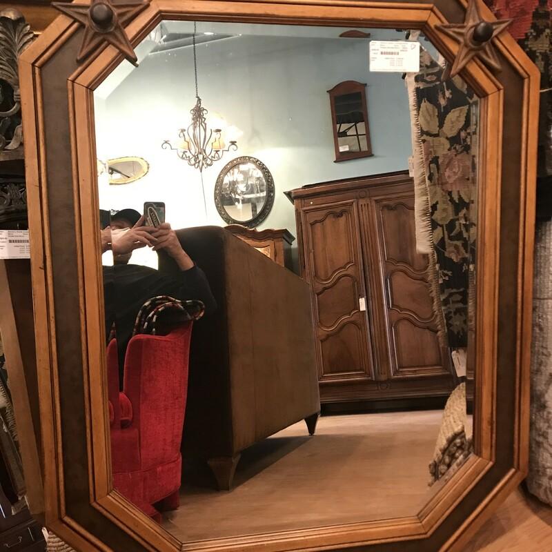 Octagon Bevelled Mirror