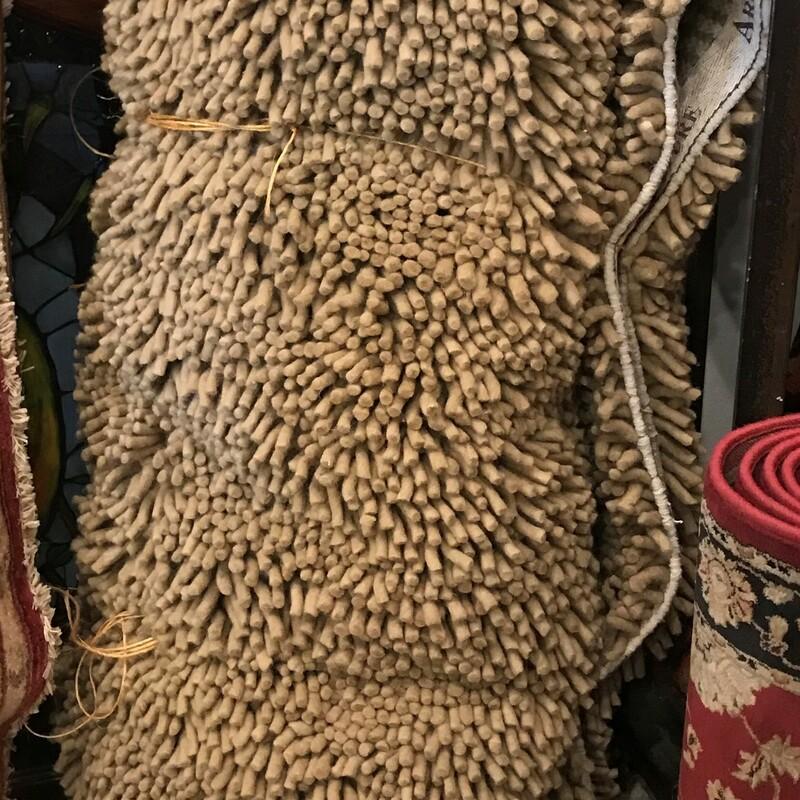 Arhaus Shag Pile, Ivory, Size: 10' x 8.5'