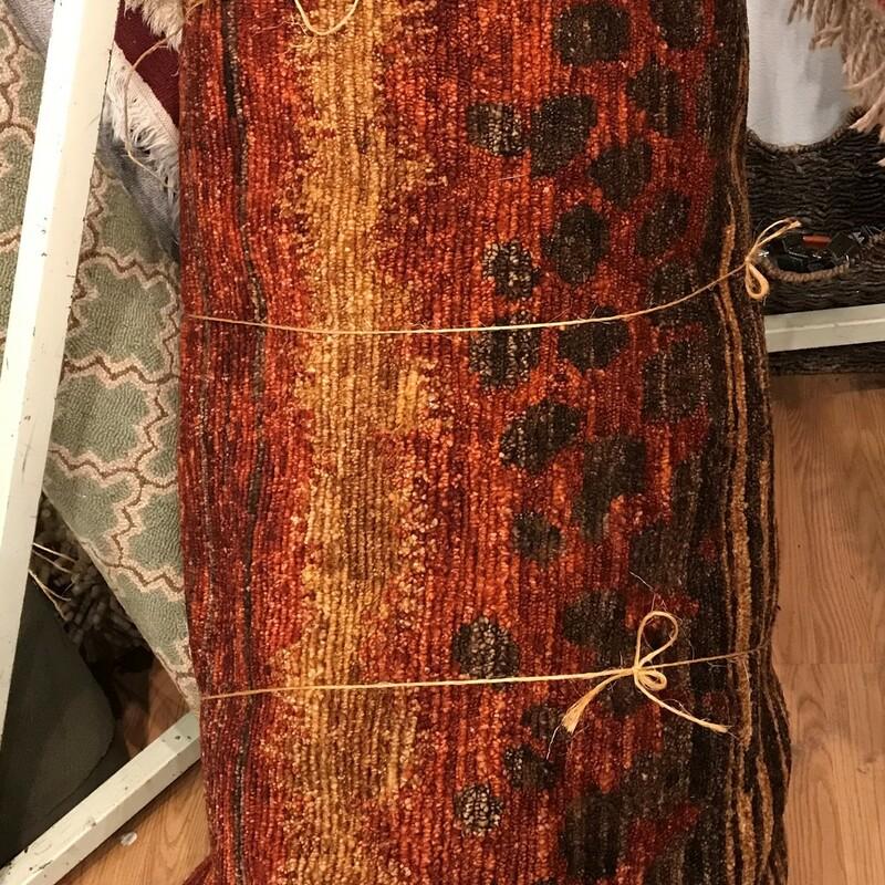 Handmade Nepal Wool, Rust/Brn,  Size: 15ft  x 12ft