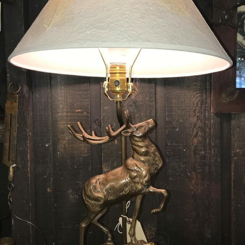 Elk Sculpture Table Lamp